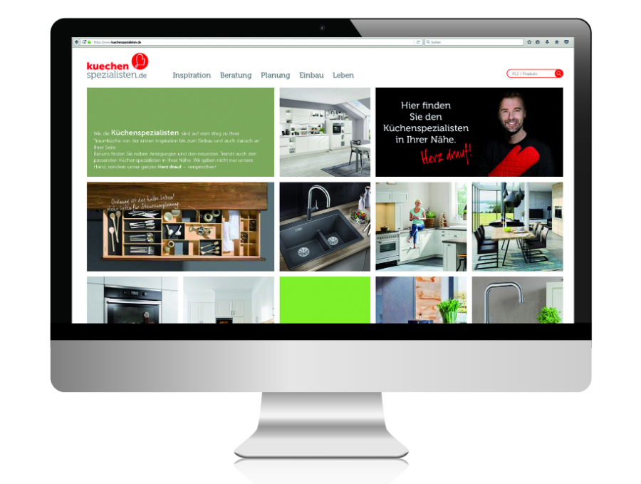 Www kuechenspezialisten de die neue digitale endkunden plattform rund um das thema küche kochen und genießen wer einen küchenspezialisten vor ort sucht