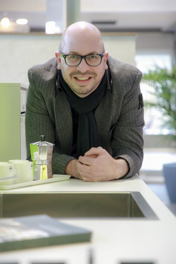 Matthias Kappe, Inhaber Kulinario Küchen (zusammen Mit Kompagnon Winfried  Götte): U201eDer Kunde Muss 1.000 Prozentig Zufrieden Sein.u201c Foto: Biermann