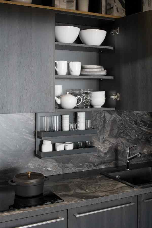 Nischenlösung Küche | Die Kuche Im Wohnregal Kuchenplaner Magazin