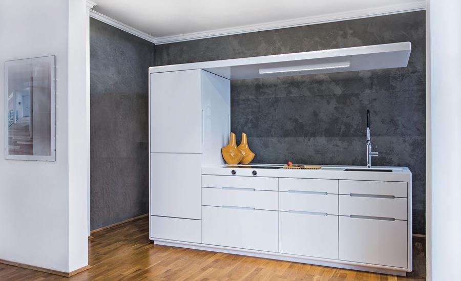 die k che im wohnraum k chenplaner magazin. Black Bedroom Furniture Sets. Home Design Ideas
