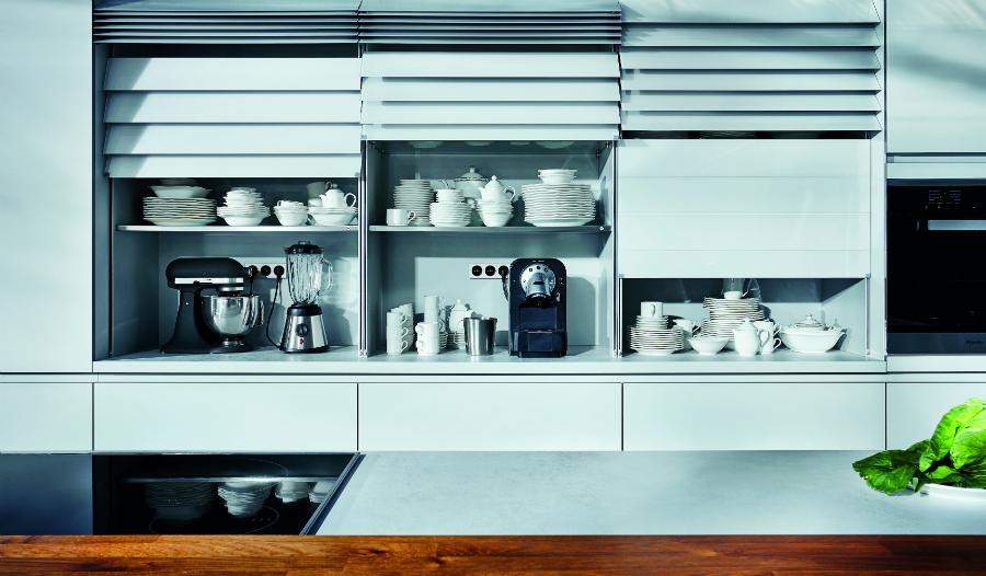 Küche küche glasfront grau : Grau unter Glas: Küchenplaner-Magazin