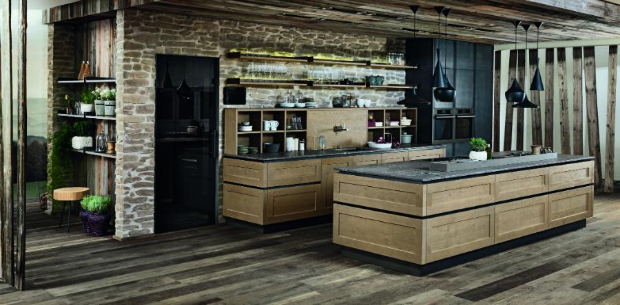 eiche markant k chenplaner magazin. Black Bedroom Furniture Sets. Home Design Ideas