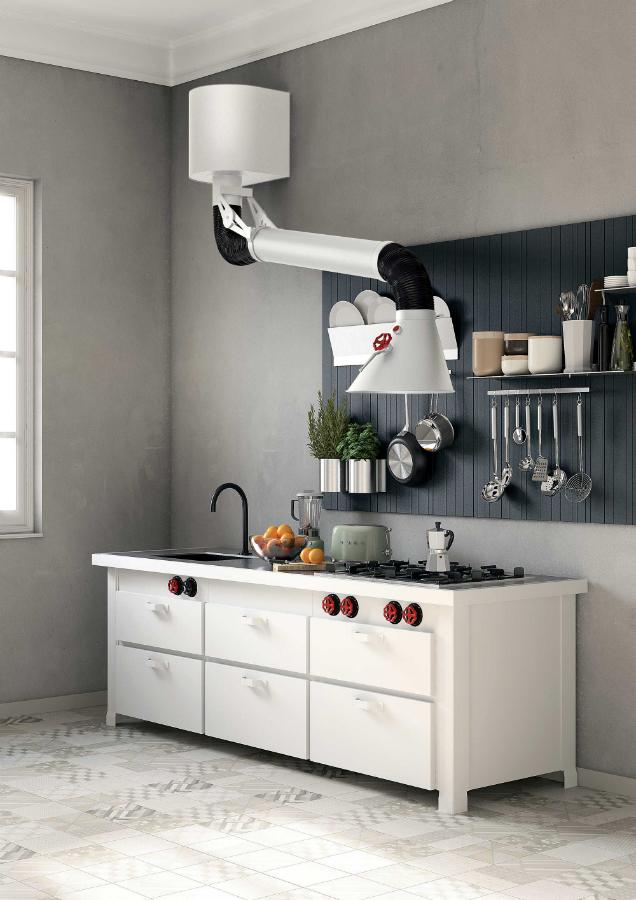 markanter retro look k chenplaner magazin. Black Bedroom Furniture Sets. Home Design Ideas