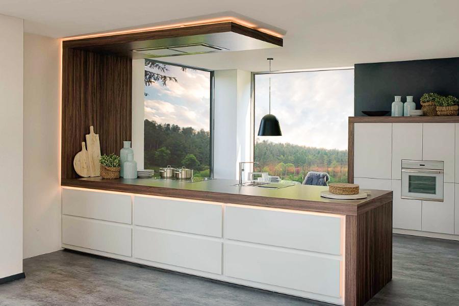 Freigestellter Rahmen: Küchenplaner-Magazin