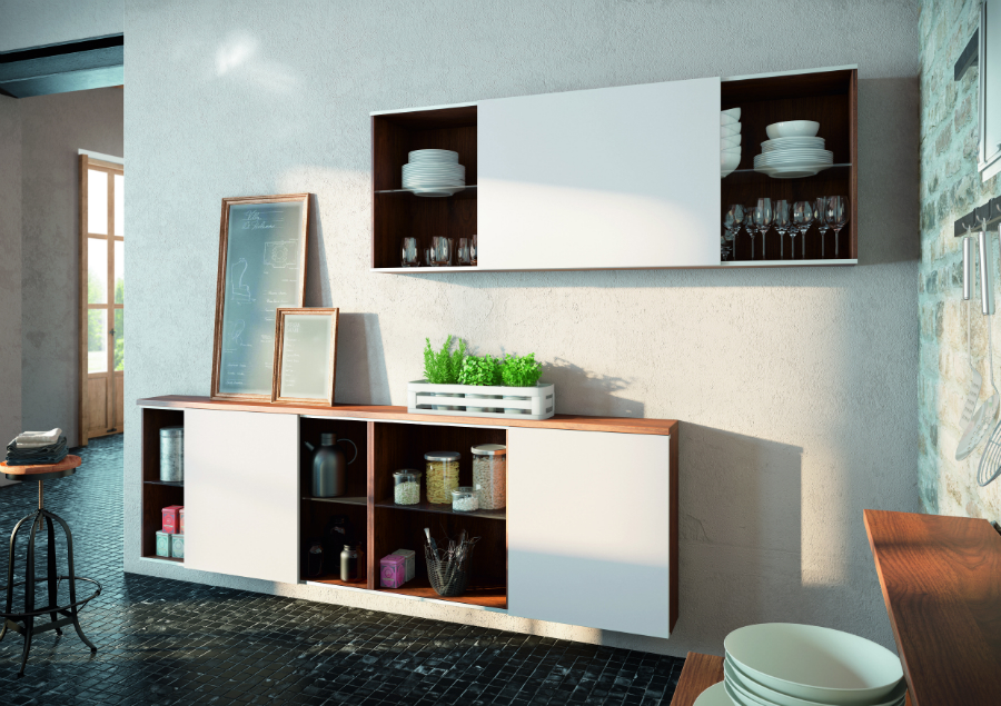 mit carbongrau kombiniert k chenplaner magazin. Black Bedroom Furniture Sets. Home Design Ideas