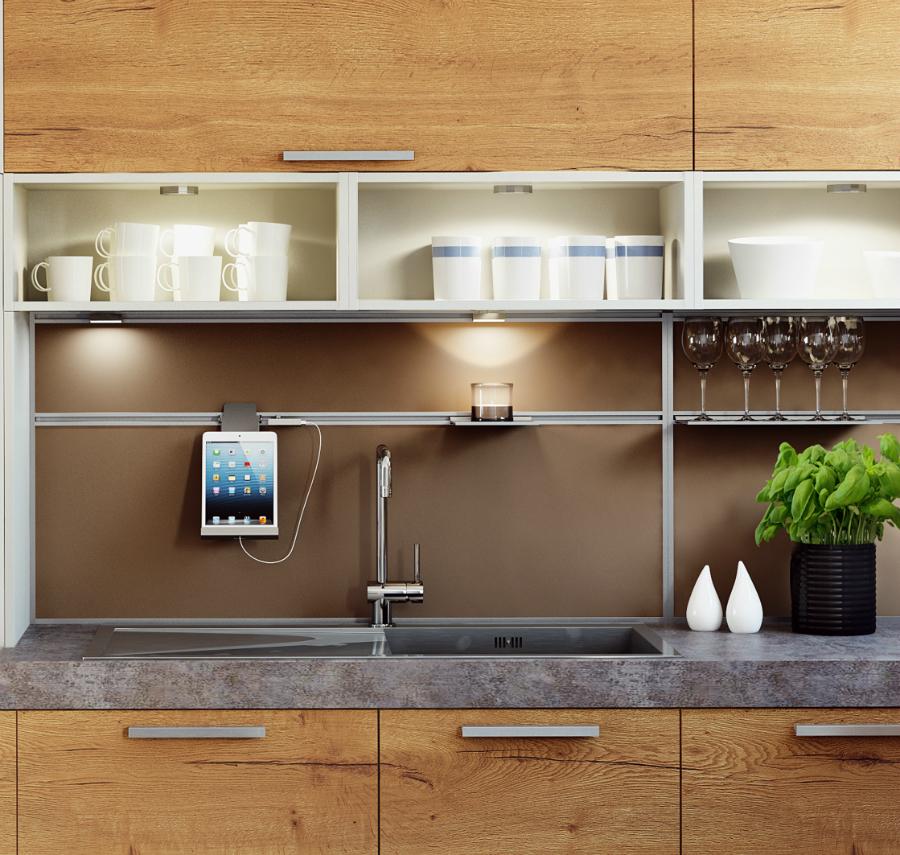 mit platz f rs tablet k chenplaner magazin. Black Bedroom Furniture Sets. Home Design Ideas