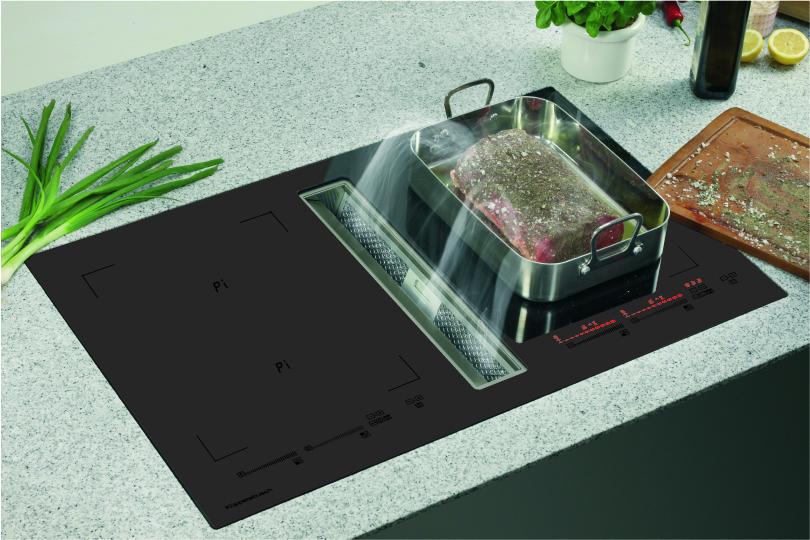 Muldenlüfter ins kochfeld integriert küchenplaner magazin
