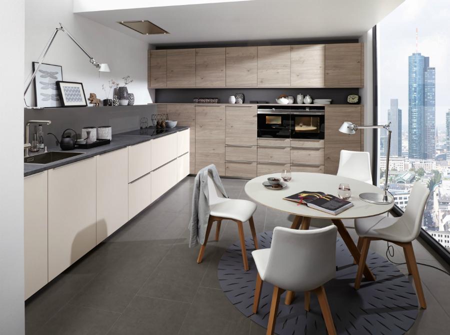 wohnliche k che mit smarter technik k chenplaner magazin. Black Bedroom Furniture Sets. Home Design Ideas