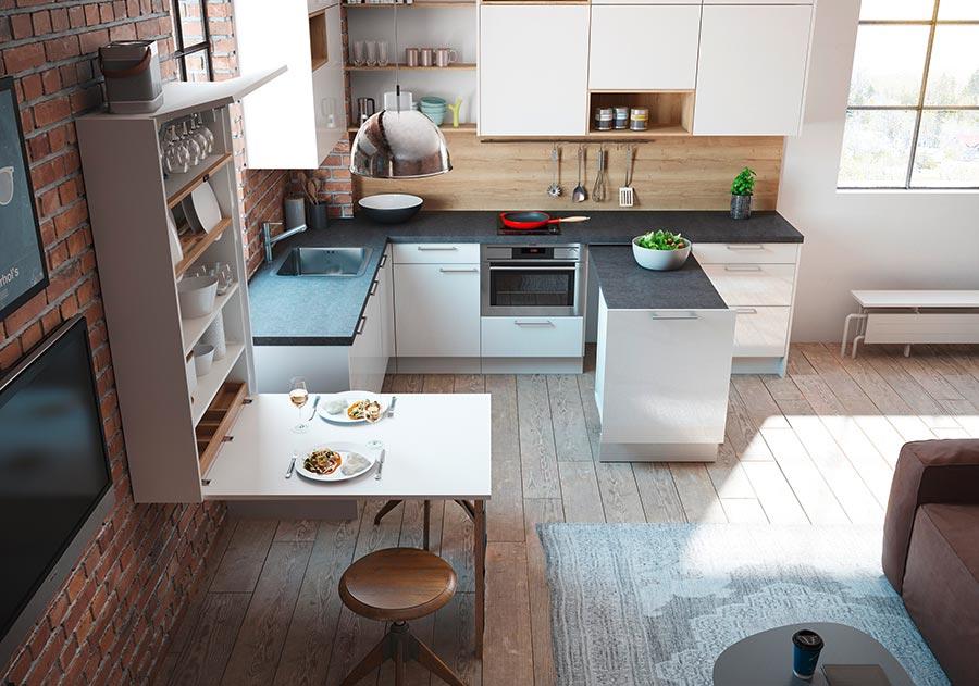 Viel Platz auf wenig Raum: Küchenplaner-Magazin
