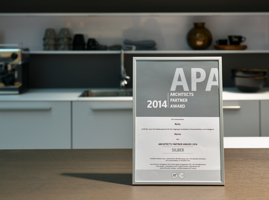 silber beim architekten award k chenplaner magazin. Black Bedroom Furniture Sets. Home Design Ideas