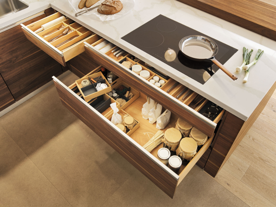 Kleine kuche organisieren