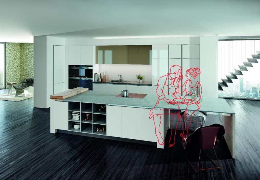 Die küche als mittelpunkt des lebens rotpunkt verbindet modernes design und intelligente funktionalität alles andere als glänzend aber dennoch ein echter