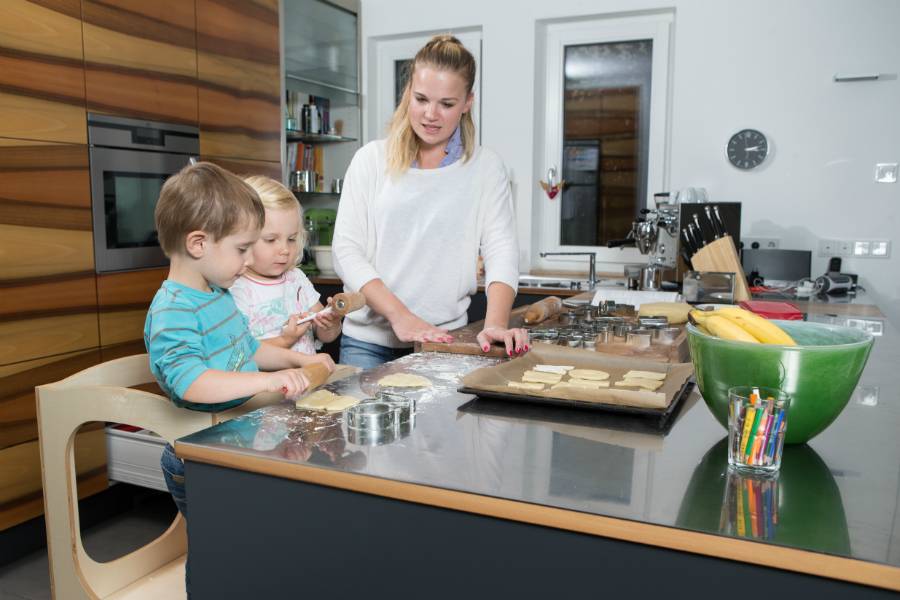 für ein entspanntes kochen mit kindern: küchenplaner-magazin - Küche Arbeit