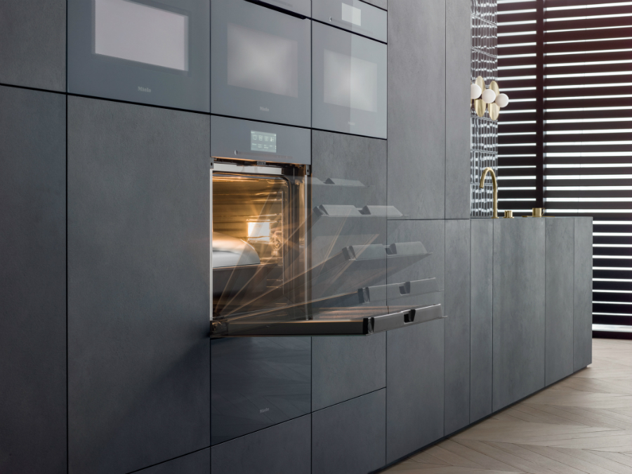 artline miele bringt grifflose ger te linie k chenplaner magazin. Black Bedroom Furniture Sets. Home Design Ideas