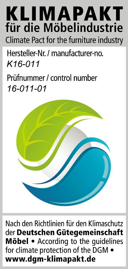 kuchenmobelhersteller nobilia : Das DGM-Label dokumentiert die aktiven Bem?hungen f?r den ...