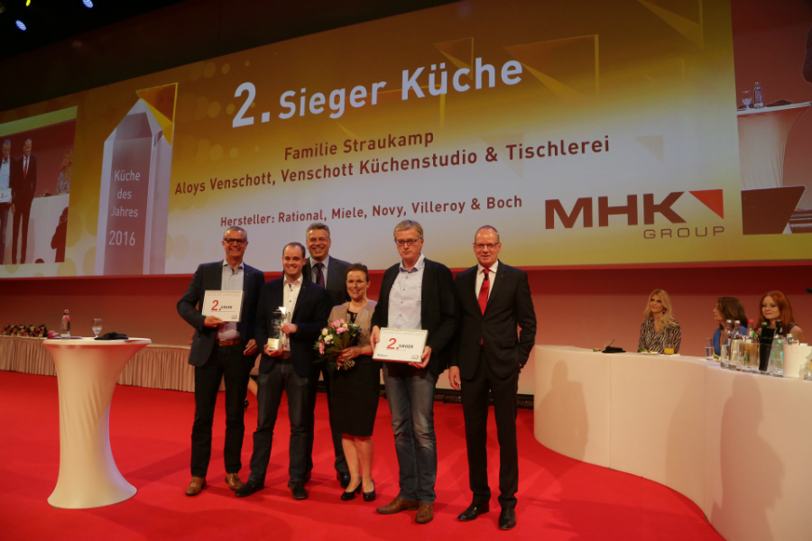 Platz 2 Errang Aloys Venschott, Venschott Küchenstudio U0026 Tischlerei,  Greven. Foto: MHK