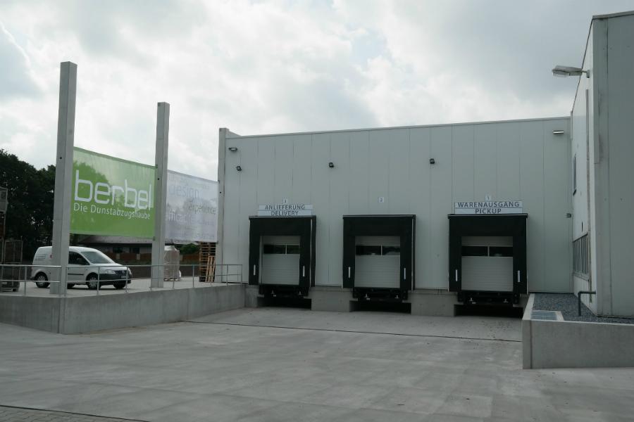 berbel er ffnet neues logistikzentrum k chenplaner magazin. Black Bedroom Furniture Sets. Home Design Ideas