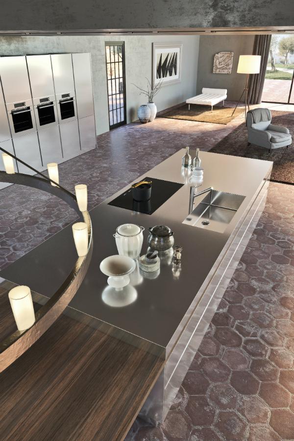 Profi Kücheninsel ~ möbel komplett aus edelstahl küchenplaner magazin