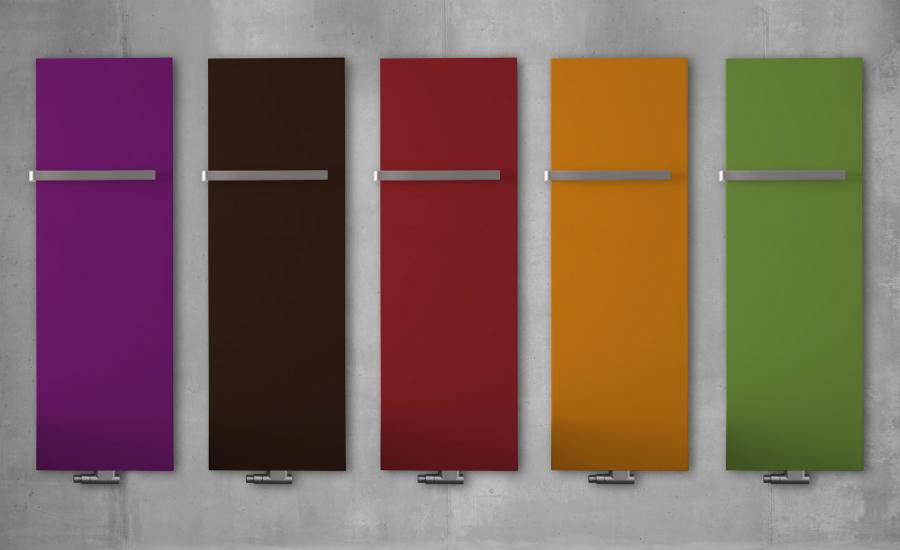 Mit farbigen Heizkörpern gestalten: Küchenplaner-Magazin