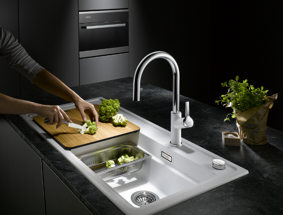 Durchdachte Spülen für Dampfgar-Fans: Küchenplaner-Magazin