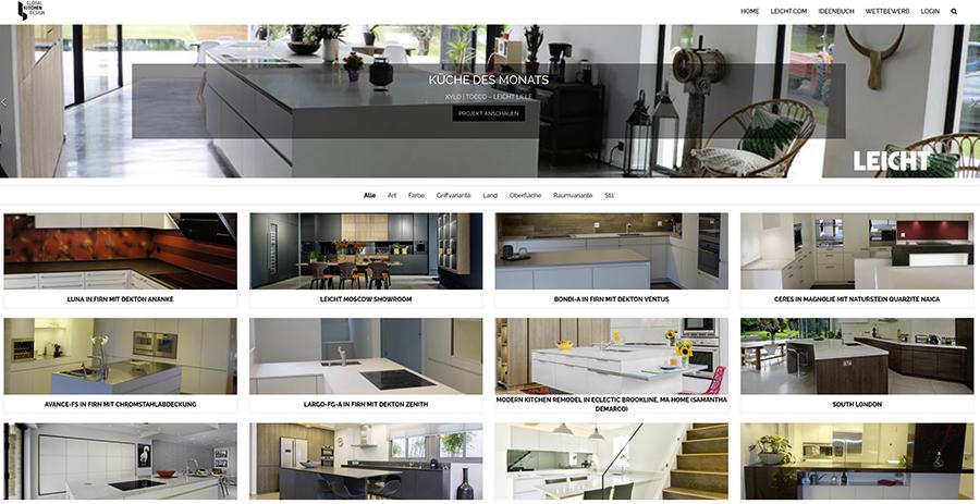 leicht k chen setzt auf strategisches onlinemarketing k chenplaner magazin. Black Bedroom Furniture Sets. Home Design Ideas
