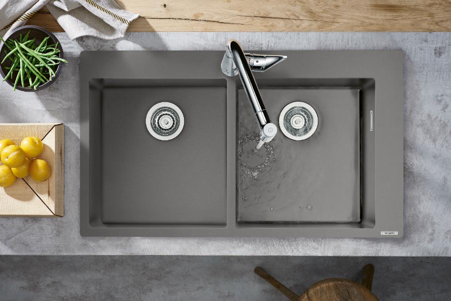 Granitspülen von hansgrohe Küchenplaner Magazin