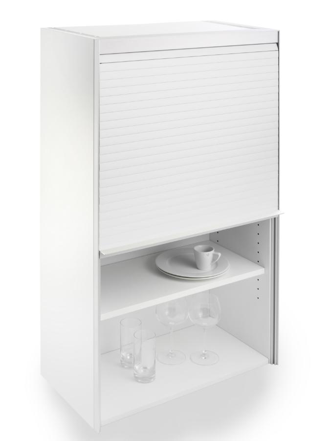 """Rollladen für den Küchenschrank in """"Brilliant White"""": Küchenplaner ..."""