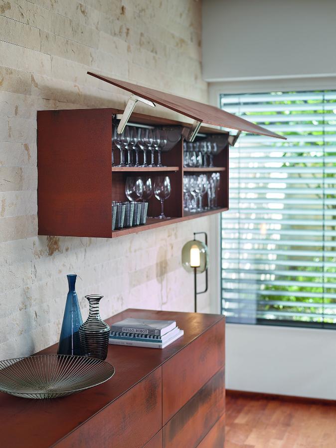Befestigungssystem für dünne Möbelfronten: Küchenplaner-Magazin