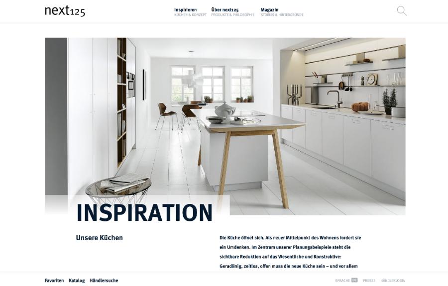 Wie in echt, so im Netz: Küchenplaner-Magazin