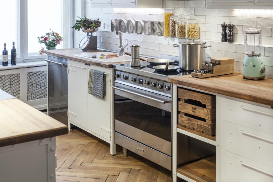 Hervorragend Italienisches Design für Möbel im Vintage-Look: Küchenplaner-Magazin OX11