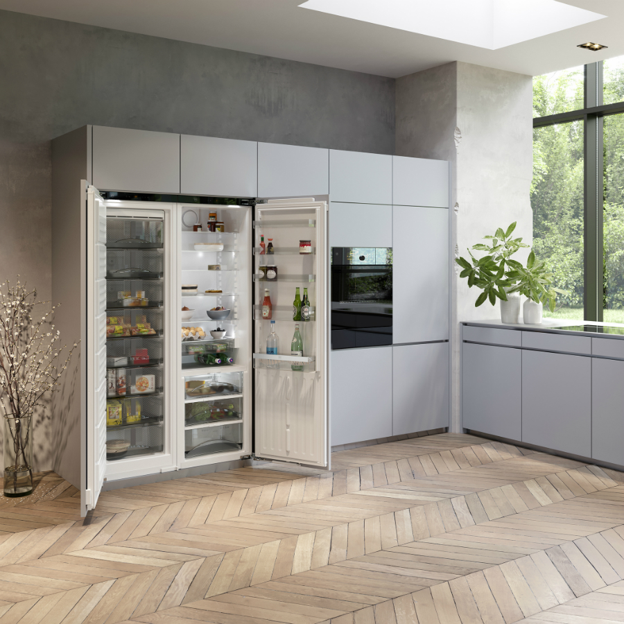 Wer Kann, Wählt Immer Häufiger Ein Kühlgerät Mit Viel Volumen. 40% Aller  Geräte Werden Mit Einem Fassungsvermögen Von 300 Litern Und Mehr Verkauft.