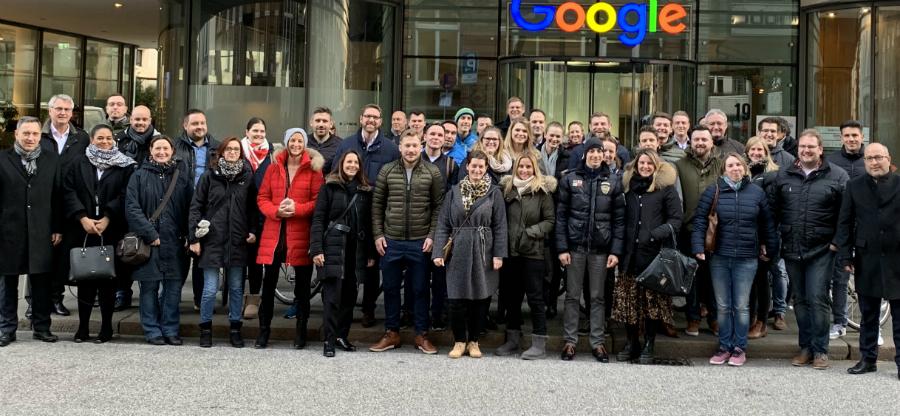 Mhk Jungunternehmer Zu Besuch Bei Google Küchenplaner Magazin