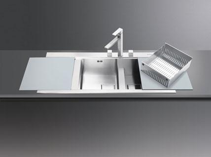 smeg sp lbecken edelstahl abdeckung ablauf dusche. Black Bedroom Furniture Sets. Home Design Ideas