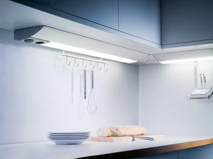 awesome unterbauleuchte k che mit steckdose images. Black Bedroom Furniture Sets. Home Design Ideas