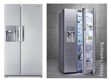 Side By Side Kühlschrank French Door Samsung : Samsung rs ex kühl gefrier kombination bei expert kaufen kühl