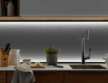 Ettlin: Dreidimensionales Lichtdesign in der Nische: Küchenplaner ...