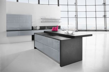 Permalink to Modern Grey Kitchen Cabinets