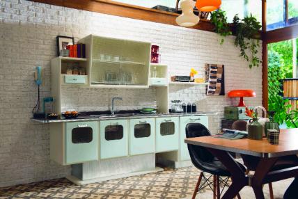 """Marchi Cucine: """"St. Louis"""" im Stil der Fifties: Küchenplaner-Magazin"""