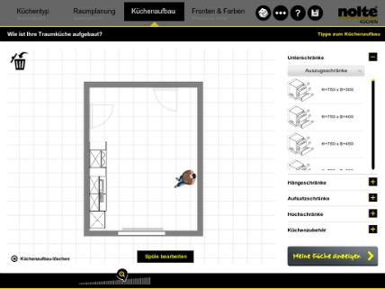 Nolte Küchen: Am iPad Küchen planen: Küchenplaner-Magazin
