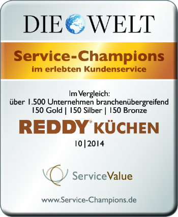Reddy Erhalt Siegel In Gold Kuchenplaner Magazin